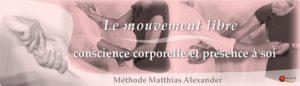 Méthode F. Matthias Alexander, Équilibre corporel & respiration